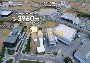 Urbanizovano građevinsko zemljište 3.300m2, Donja Gorica - 1