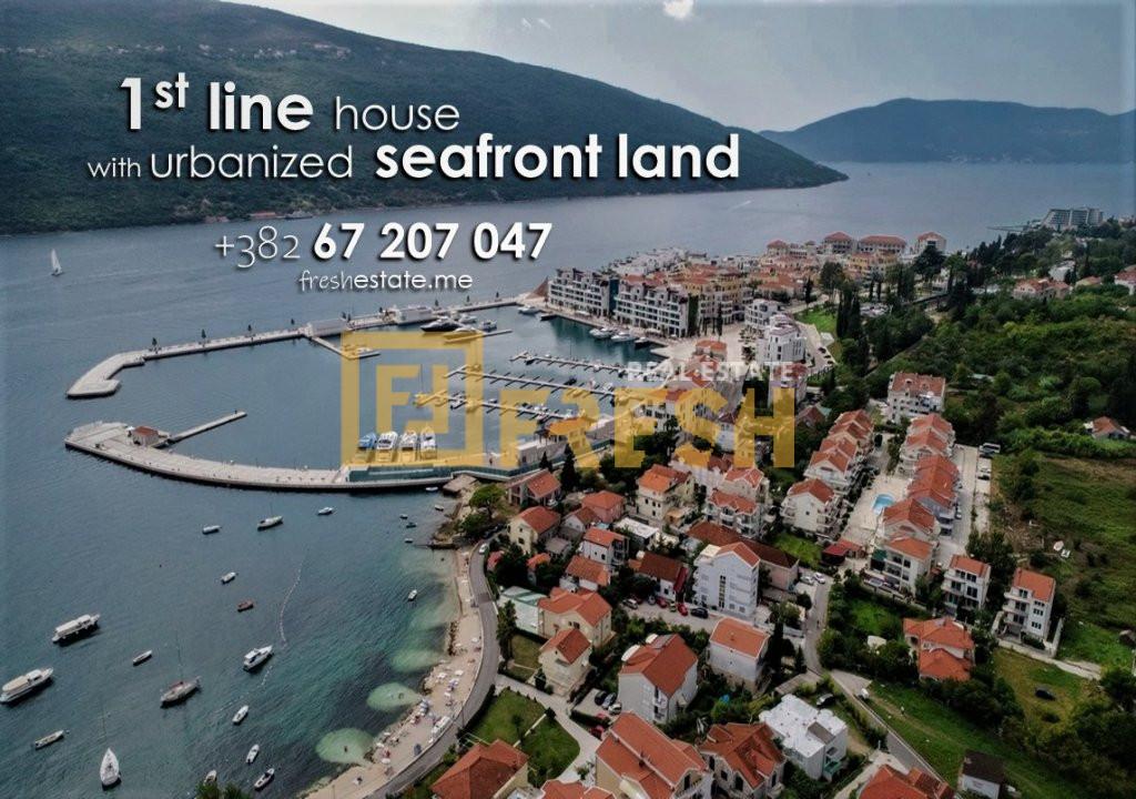 Prva linija od mora, 465m2, Đenovići & Porto Novi - 0