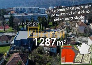 Vrhunska lokacija, 2 urbanističke parcele, Danilovgrad - 1