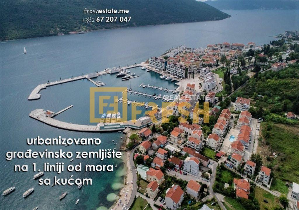 Prva linija od mora, 465m2, Đenovići & Porto Novi - 2