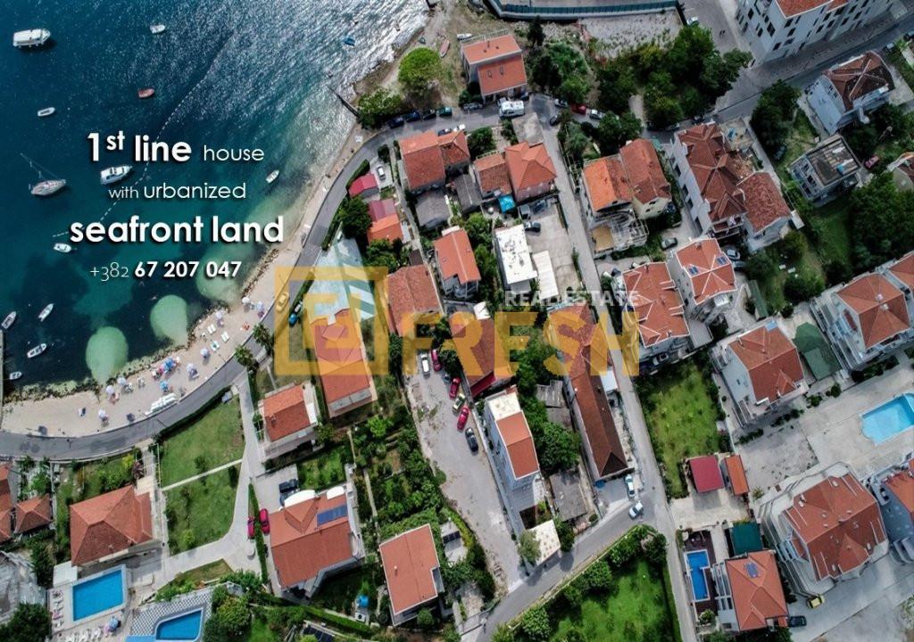 Kuća na prvoj liniji od mora, Đenovići & Porto Novi 1
