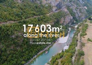 Plac uz rijeku Moraču 17603m2 - 1