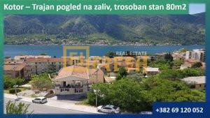 Trosoban stan, 80m2, Kotor, Prodaja - 1