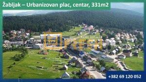 Urbanizovan plac 331m2, Žabljak, Prodaja - 1