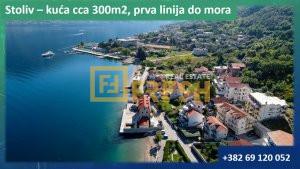 Kuća sa trajnim pogledom na more, 300m2, Stoliv - 1