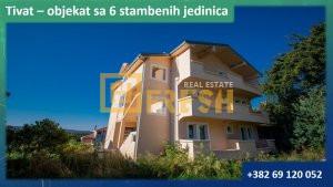 Objekat sa 6 stambenih jedinica, Tivat - 1